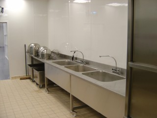 Hygienic Kitchen Wall Cladding