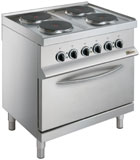 Whirlpool AGB 487/WP 4 Hotplate Electric Oven Range
