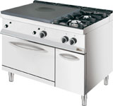 Whirlpool AGB 491/WP Solid Top / 2 Burner Gas Oven Range