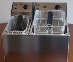 Rollergrill FD 50+80 Double Countertop Fryer