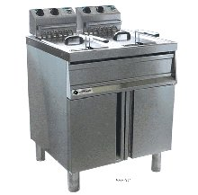 Monarch FPE4DL Double Pan Fryer