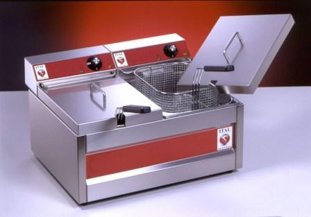 Ital FR75/2 Fryer