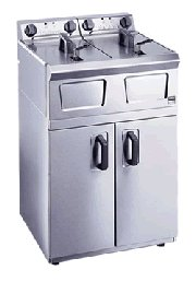 Falcon Pro-Lite LD49 Twin Pan Fryer
