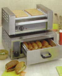 Rollergrill RG7 Hot Dog Grill