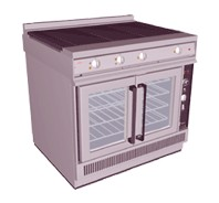 Falcon Dominator E2102 Hotplate Convection Oven Range